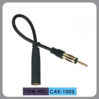 RG174 Car Radio Antenna Extension Cable Male To Female Connector Black Color Manufactures