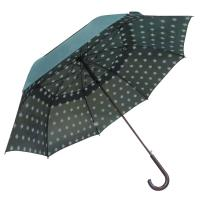 China large best Personalised Heavy Duty Vented Golf Umbrella 190T Pongee Fabric Fibreglass Shaft on sale