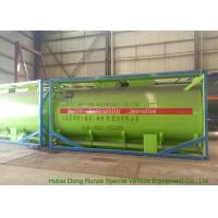 20Feet HCL Acid ISO Tank Container For Shipping UN1789 Steel Lined PE 16mm Manufactures
