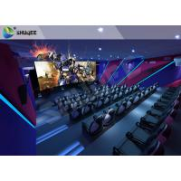 Unique Entertainment 4D Movie Theater With Electronic Motion Seats Manufactures