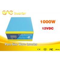 Single output off grid 12v 24v dc 220v ac pure sine wave solar inverter 1kw for solar system Manufactures