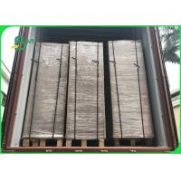 Quality Wide 75×105CM Recycle Pulp 1200gsm / 2.0mm Grey Carton Gris For Boxes for sale