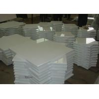 Pure White Nano Glass Tile For Interior / Exterior Wall 305x305mm - 600x600mm Manufactures