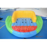0.9mm PVC Tarpaulin Inflatable Towable Boat For Lake Manufactures