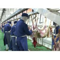 Goat Mutton Split Meat Production Line Slaughter Conveying Whole Processing Type Manufactures