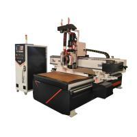 Three Air Cooling Spindle Woodworking CNC Router Machine Large Load Bearing Manufactures