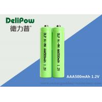China 500mAh AAA Rechargeable Batteries Nimh 1.0v~1.2v Battery Rechargeable AAA on sale