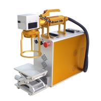 China Hand Held Mini Laser Engraving Machine For Metal For Product Date Serial Number on sale