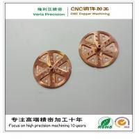 Quality Precision CNC Brass Machining Part / CNC Machined Copper Part for Hardware Spare for sale