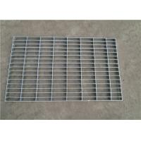 Hot Dipped Galvanized Pressure Locked Grating , Heavy Duty Metal Floor Grates Manufactures