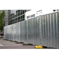 Galvanized Powder Coated Temporary Hoarding Panels In Ausrtalian Buliding Site Manufactures