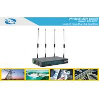 Dual Sim 2G Quad - Band GSM EDGE GPRS WIFI Router With 1 WAN RJ45 Port Manufactures