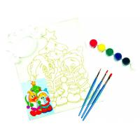 Personalised Paint Art Set , Simple Watercolour Paint Set With Plastic Palette Manufactures