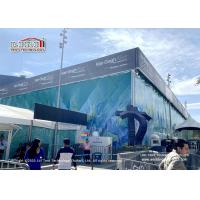 China Liri Cube Structure Tent 25x50m With 8m Height Used For Van Gogh Art Exhibition on sale
