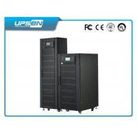 High Reliable Three Phase Online Industrial UPS 30kVA/ 27kw with Parallel Card Manufactures