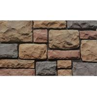 Fire Proof Artificial Stone Panels / Faux Stacked Stone Antique Limestone Design Manufactures