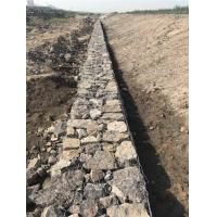 Quality Flexibility Gabion Retaining Wall , Hexagonal Gabion Wall Cages For Stones for sale