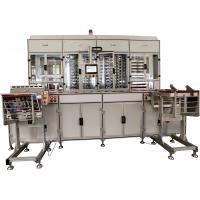 China 16000 cards / hour business card maker machine , Metal Clad platens plastic card making machine on sale