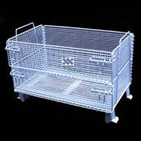 Metal warehouse wire mesh trays Manufactures