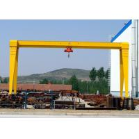 China MH A Frame Single Beam 5 Ton Mobile Gantry Crane for Goods Yard , Marble , Granite Stone on sale