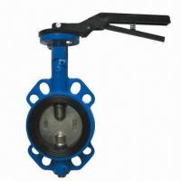 F203 Wafer Type Butterfly Valve, Made of Stainless Steel Material Manufactures