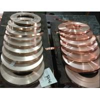 Nickel Plated Beryllium Copper Alloys High Strength C1720 / C17200 Corrosion Resistant Manufactures