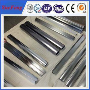Hot! kitchen closet aluminium angle price, mirrow polishing aluminium extrusion Manufactures
