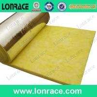 waterproof and fireproof glass wool rool/glass wool blanket with CE Manufactures