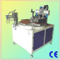CE Approved Chinese Single Color 4 Stations HS-350P Precise Flat Surface Screen Printer With Vacuum