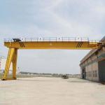 Heavy Duty Semi Gantry Crane / 5T 10T Mini Single Girder Gantry Crane Manufactures