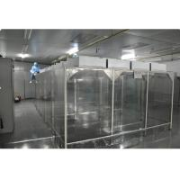 Industrial Laboratory Softwall Clean Room , PC Control Class 1000 Cleanroom Manufactures