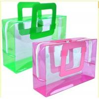 Frost PVC Plastic Bags Heat Seal Printing Logo TPU for Cosmetic Manufactures