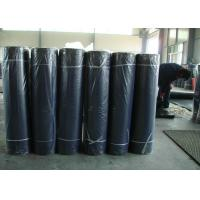 Black Industrial Rubber Sheet 80+-5 Shore A Hardness 6-12Mpa Tensile Strength Manufactures