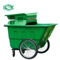 China Environmental Friendly 50 Gallon Trash Can Non - Toxic Outdoor Large City Garbage Can on sale