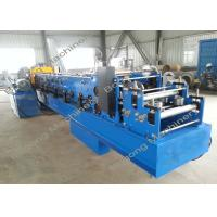 China Steel Blade C Purlin Forming Machine High Speed With PLC Touch Screen on sale
