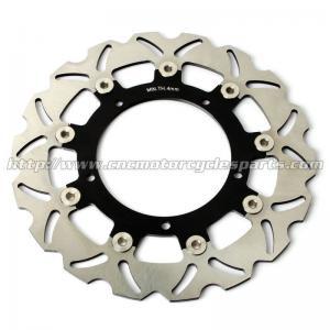 China Aluminum Front Motorcycle Brake Disc Set Yamaha YZF R3 FZ6 XJ6 CNC Machining on sale