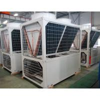 China Air cooled chiller modular type with 122kw capacity-35TR scroll chiller on sale