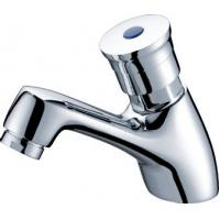 Modern Wall Mounted Self Closing Faucet Single Hole with CE Certificate Manufactures