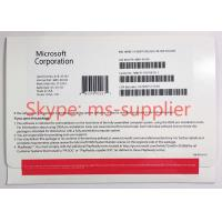 China Microsoft Windows 10 Home 32 Bit&64 Bit / Win10 Home USB & DVD Geniune Oem Pack on sale