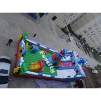 0.55mm PVC Tarpaulin Outdoor Theme Inflatable Playground For Kids Manufactures
