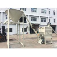 Buy cheap Wheat Grain Horizontal Ribbon Mixer SUS316L Material Electric Cabinet Control from wholesalers