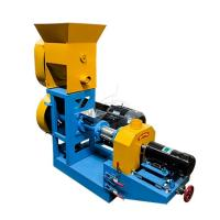 China Auto Fish Food Pellet Machine , Fish Pellet Making Machine With Diesel Engine on sale