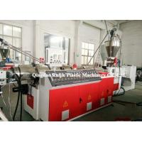 China Parallel PVC SPC Flooring Machine , Double Screw Panel Making Machine SJSP115 on sale