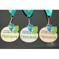 Buy cheap Custom soft enamel medalilles, Personized color filled medals, Custom your own from wholesalers