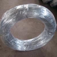 China hot dipped galvanized iron wire BWG14 ,25KG per roll  on sale
