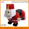 Santa Claus Electronic Walking Animal Rides Games Machine for Christmas Amusement Park for sale