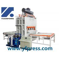 Automatic short cycle press line/ melamine laminating press   Automatic short cycle press line/ melamine laminating Manufactures