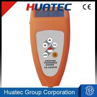 China Eddy current 0 - 2000um 0.1mm Coating Thickness Gauge TG-2000 on sale