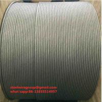 China 20.3%Aluminum Clad Steel Wire Strand on sale