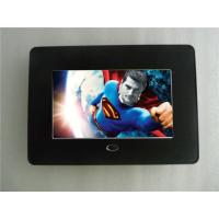 7 inch 800x480 LCD Digital Photo Frame For Advertising MPEG1 , MPEG2 Manufactures